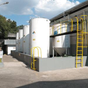 Tanques para armazenamento de efluentes