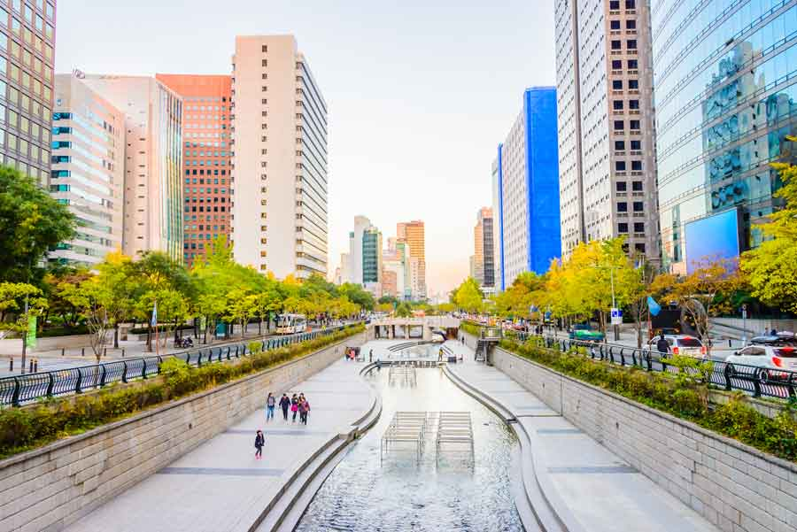 Revitalização de rios em centros urbanos